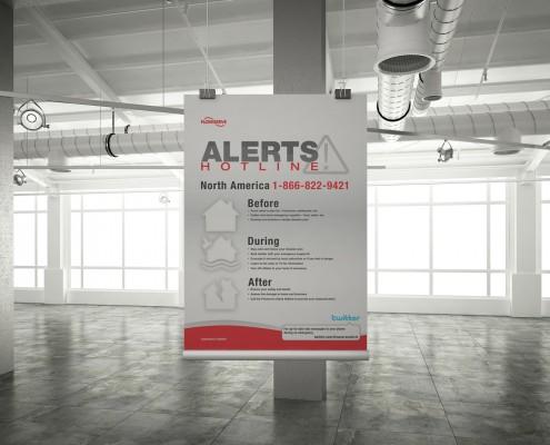 Alerts Hotline Poster