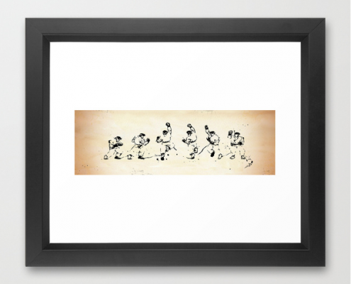 Memory Frames - Ryu (Limited Edition) framed